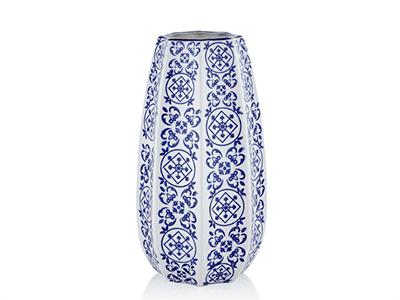 Bleu Blanc Design Büyük Vazo